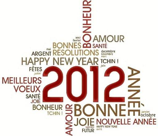 """""""Meilleurs voeux 2012"""""""
